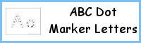 ABC Dot Marker Letters