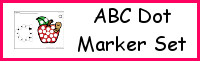 ABC Dot Marker Set