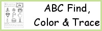 ABC Find, Color & Trace