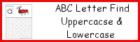ABC Letter Find Uppercase or Lowercase