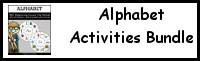 Alphabet Activities Bundle (ABC)