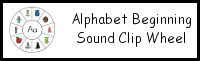 Alphabet Beginning Sound Clip Wheel