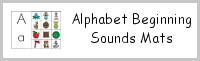 Alphabet Beginning Sounds Mat
