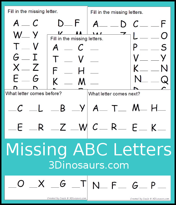 image regarding Printable Abc Letters identify Plenty of Enjoyable in direction of Retain the services of ABC Printables 3 Dinosaurs