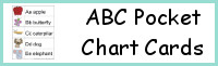 ABC Pocket Chart Cards