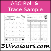 ABC Roll & Trace Sample