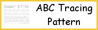 ABC Tracing Pattern