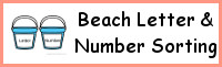 Beach Themed Number & Letter Sorting