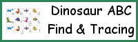 Dinosaur ABC Find & Tracing