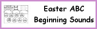 Easter Beginning Sound Coloring