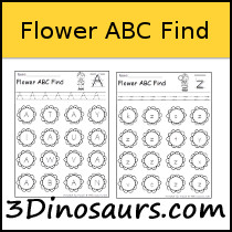 Flower ABC Find Sample