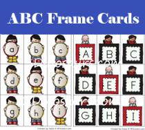 New ABC Frame Cards