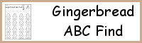 Gingerbread ABC Find
