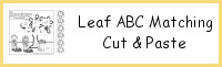 Leaf ABC Matching Cut & Paste