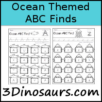 Ocean ABC Find Sample