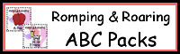 Romping & Roaring ABC Packs Selling Set