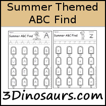 Summer ABC Find Sample