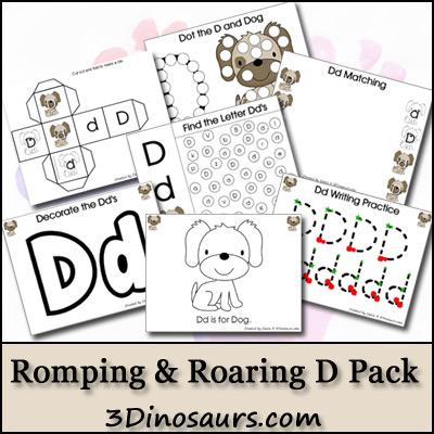 Romping & Roaring D Pack