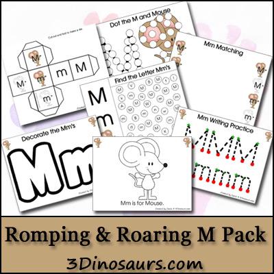 Romping & Roaring M Pack