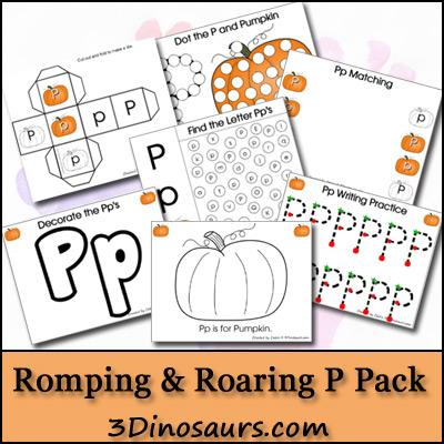 Romping & Roaring P Pack - 3Dinosaurs.com