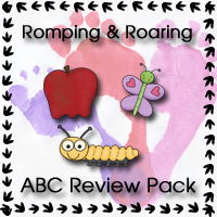 Romping & Roaring ABC Review Pack