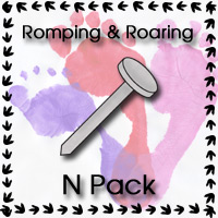 Free Romping & Roaring N Pack