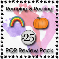 Romping & Roaring PQR Review Pack - 3Dinosaurs.com