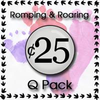Romping & Roaring Q Pack - 3Dinosaurs.com