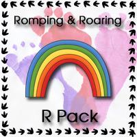Romping & Roaring R Pack - 3Dinosaurs.com