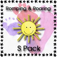 Romping & Roaring S Pack - 3Dinosaurs.com