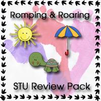 Romping & Roaring STU Review Pack - 3Dinosaurs.com