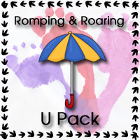 Romping & Roaring U Pack - 3Dinosaurs.com