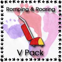 Romping & Roaring V Pack - 3Dinosaurs.com
