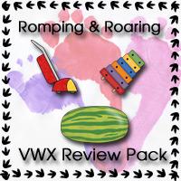 Free Romping & Roaring VWX Reveiw Pack