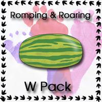Romping & Roaring W Pack - 3Dinosaurs.com