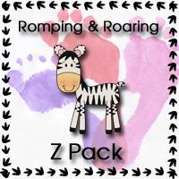 Free Romping & Roaring Z Pack