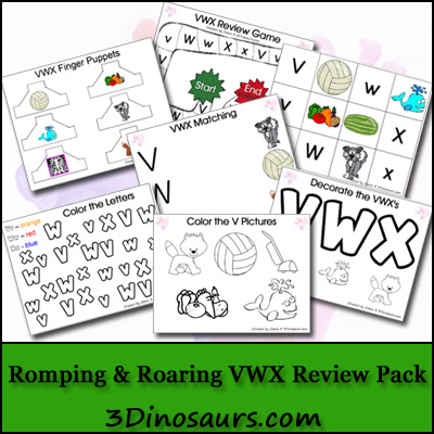Romping & Roaring VWX Review Pack - 3Dinosaurs.com