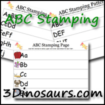 ABC Stamping Pages