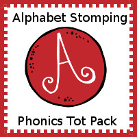Alphabet Stomping Phonics A Pack - Tot-Preschool