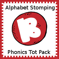 Alphabet Stomping Phonics B Pack - Tot-Preschool