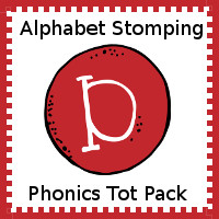 Alphabet Stomping Phonics D Pack - Tot-Preschool