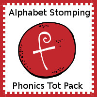 Alphabet Stomping Phonics F Pack - Tot-Preschool