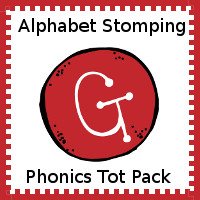 Alphabet Stomping Phonics G Pack - Tot-Preschool
