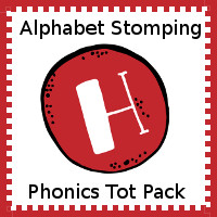 Alphabet Stomping Phonics H Pack - Tot-Preschool