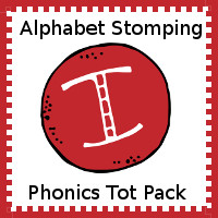 Alphabet Stomping Phonics I Pack - Tot-Preschool