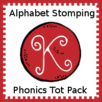Alphabet Stomping Phonics K Pack - Tot-Preschool