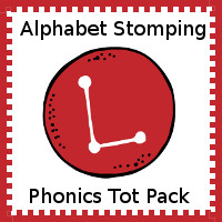 Alphabet Stomping Phonics L Pack - Tot-Preschool
