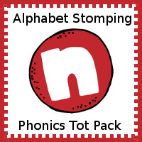 Alphabet Stomping Phonics N Pack - Tot-Preschool
