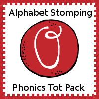 Alphabet Stomping Phonics O Pack - Tot-Preschool