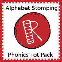Alphabet Stomping Phonics R Pack - Tot-Preschool